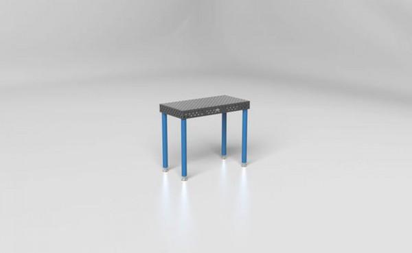 1000 x 500 x 100 mm höhenverstellbar