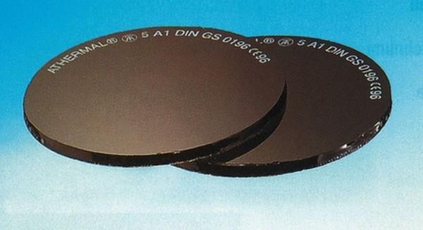 Ersatzglas rund für Schweißbrille
