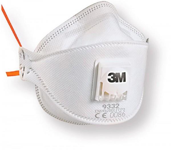 3M Aura Komfort Feinstaubmaske 9332+