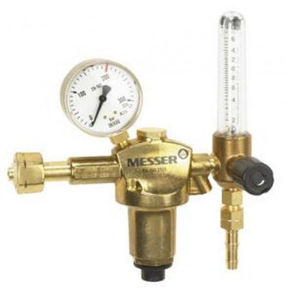 Druckminderer Wasserstoff mit Mengenmesser 0 - 16 l/min
