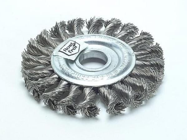 Rundbürste gezopft Stahl