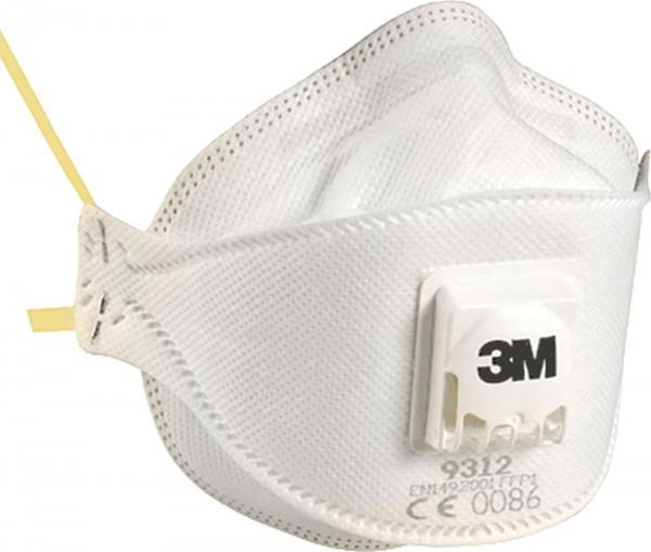 3M Aura Komfort Atemschutzmaske 9312+