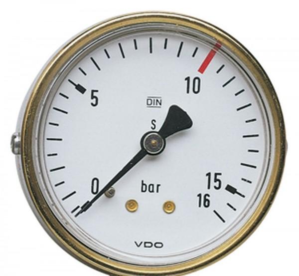 Manometer 63 mm G 1/4 hinten