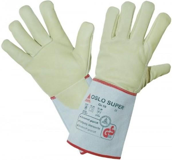 Schweißerhandschuh OSLO-SUPER Rindnabenleder