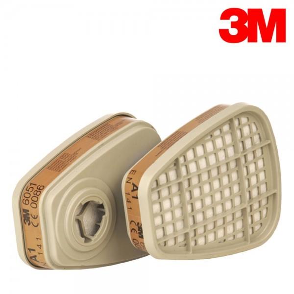 3M A1 Filterpatrone 6051
