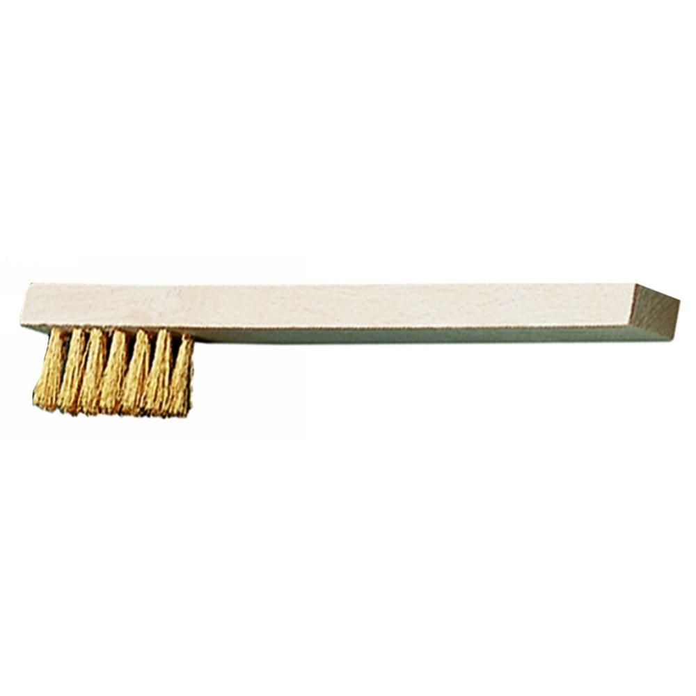 Drahtbürste Edelstahl 0,35 mm Stahldraht-Rostfrei V2A 2reihig 4reihig 3reihig