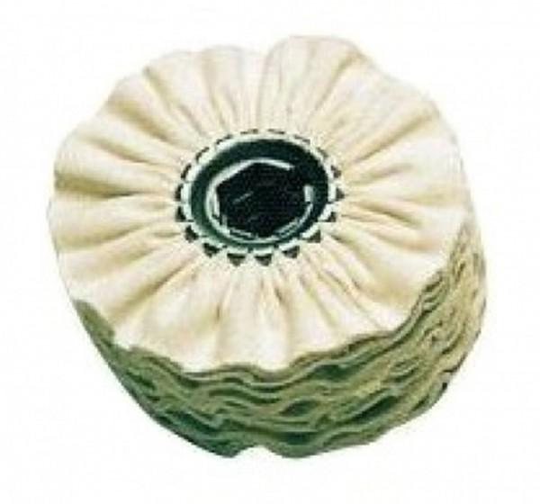 Baumwollschwabbel 100 x 10 mit Distanzringsatz