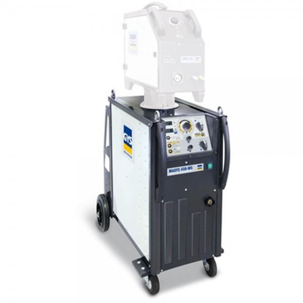 Schutzgasschweißgerät Industrieserie MAGYS 450 WS Vorschubkoffer