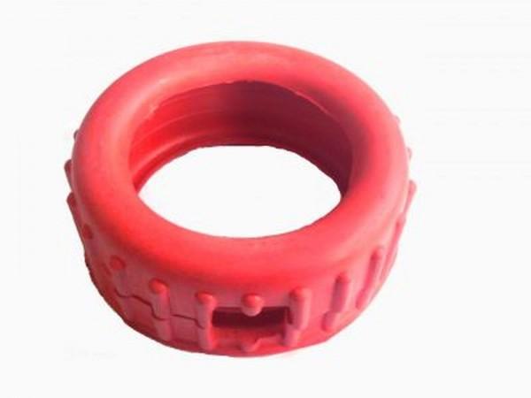 Manometerschutzkappe DIN rot
